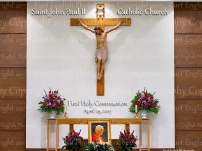 2017 Saint John Paul II First Holy Communion 4/29/2017