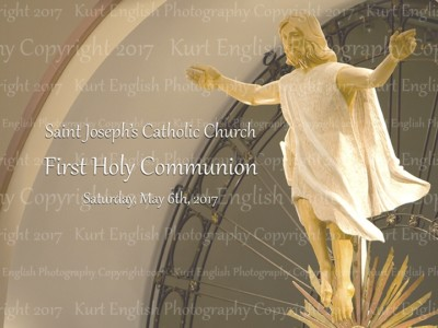 2017 St. Joseph's Prep First Holy Communion  May 6th, 2017