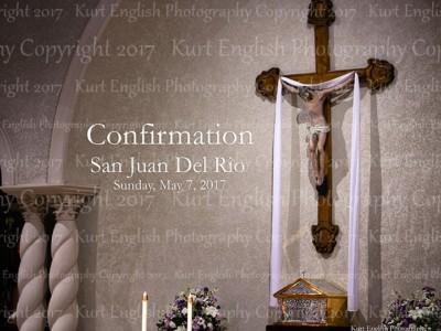 2017 San Juan Del Rio Confirmation 5/7/2017
